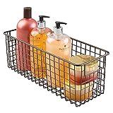 mDesign Badkorb zur Kosmetikaufbewahrung – für Shampoo, Lotion, Schwämme etc. – auch als...