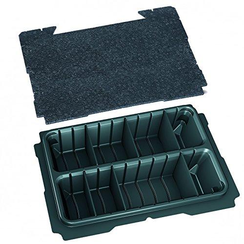TANOS systainer® T-Loc I Einsatz 2-fach geteilt + Deckeleinlage 80500035
