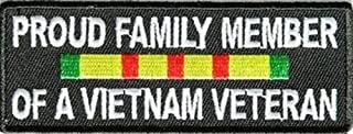 PROUD FAMILY MEMBER OF A VIETNAM VET NEW Club Motorcycle Biker Patch PAT-3252