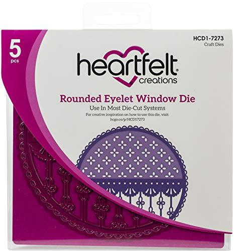 Heartfelt Creations Stanzschablonen für Augen, abgerundetes Ösenfenster