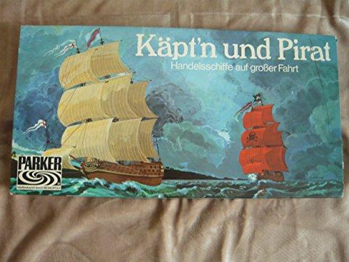 Käpt'n und Pirat - Handelsschiffe auf großer Fahrt, PARKER Brettspiel 601 1017