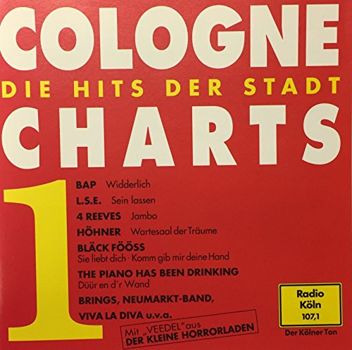 BAP, L.S.E., 4 Reeves, Höhner, Blõck Fööss, Brings, Piano Has Been Drinking..