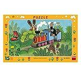 Dino Toys 1039 - Puzzle con Marco, diseño de pequeño Topo