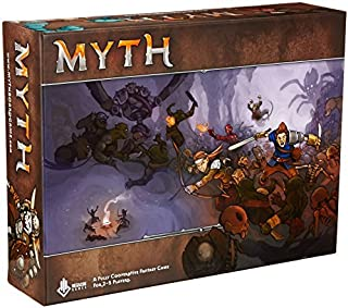 Enter The World Of Myth Board Game by Megacon Games