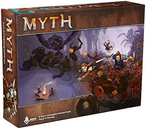 Enter The World of Myth Board Game