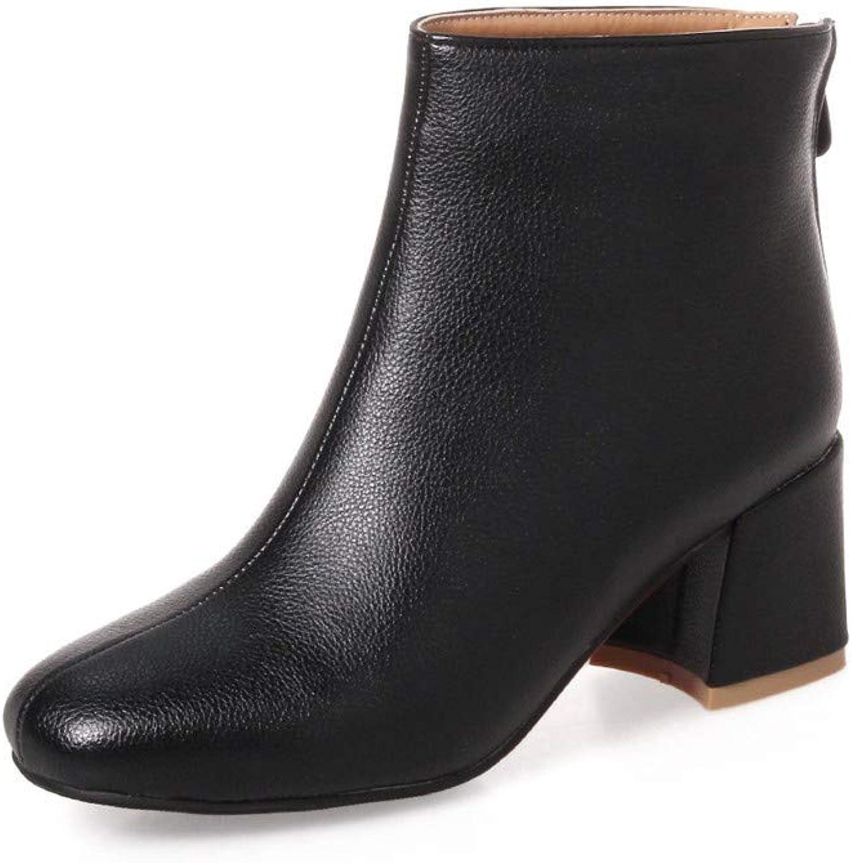 AIKAKA Frauen Herbst und Winter Europa und Amerika Sexy warme High Heel Schuhe Kurze Stiefel  | Um Zuerst Unter ähnlichen Produkten Rang  | Erste in seiner Klasse