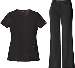 Dickies Xtreme Stretch Women's V-Neck Top 82851 &...