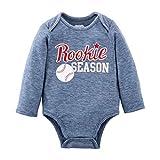 Mud Pie Baby BOY Sports Crawler, Baseball, 0-6 Months