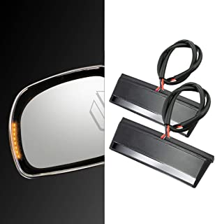Motorcycle Turn Signal LED Side Mirror Lights Case for Honda GOLDWING GL1800 2001-2017