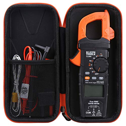 Aproca Hard Travel Storage Carrying Case for Klein Tools CL800 Digital Clamp Meter