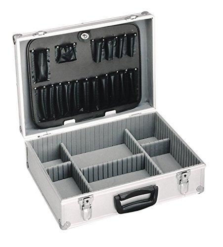 Meister Werkzeugkoffer leer, 460 x 330 x 150 mm - Verstärkter Rücken - Individuelle Fachaufteilung...