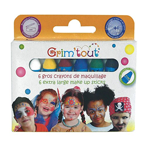 6 Crayons de maquillage - Taille Unique