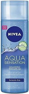 Nivea Aqua Sensation Normal/Karma Ciltler için Canlandırıcı Yüz Temizleme Jeli 200 ml