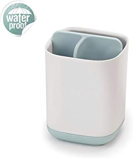 U/A Plastic Toothbrush Holder,Used to Store Toothpaste and Toothbrush, Light and Small to Space Saving-Blue
