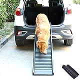 Mascota Rampa Portátil, Plegable Al Aire Libre Carro De SUV Mitad Perros Rampas Coches Mascotas Accesorios para Grandes Mejor Coche O Alta Cama del Perro Seguridad La Pata Inclinación Escalera