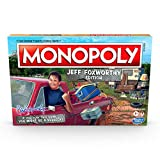 Monopoly Jeff Foxworthy Edition Board Game Featuring Redneck Humor, Fast-Dealing Property Trading Game for 2-6 Players, Ages 8 and Up