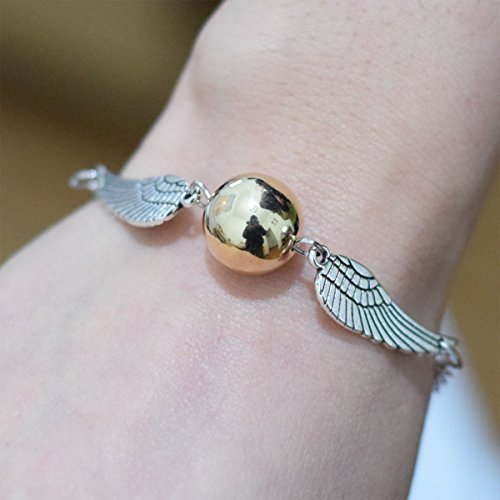 Golden Snitch Armband Harry Potter Armband – Golden Snitch Armband für Book Lovers