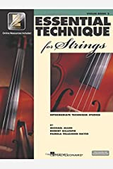 Essential Technique for Strings - Violin: (Essential Elements Book 3) with EEI Paperback
