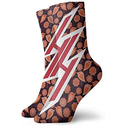 Gre Rry Hentai Haven Emblem Unisex Adult Crew Socken Sport Athletic Crew Socken Compression Socks