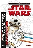 Disney Star Wars Les Derniers Jedi Ep VIII Mon livvre de coloriage + un grand poster (BB-8) Mon livre de coloriages avec un grand poster