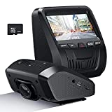 NEZINI Car Dash Cam, Dashboard Camera Recorder with 32GB SD Card, FHD 1080P, 3' LCD Screen, Driving Recorder with Sony Video Sensor, Parking Mode, 150° Angle, Loop Recording, Night Vision, WDR