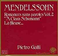 Mendelssohn: Romances sans Paroles Vol.2