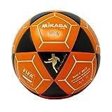 Mikasa FT5 - Balón de fútbol, color negro y naranja, talla 5