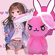 Movies & TV - Game Overwatches Pink Dva Rabbit Plush Toys The Last Bastion OW Ganymede Solf Plush Pillow Dolls Toys for Children Gifts ()