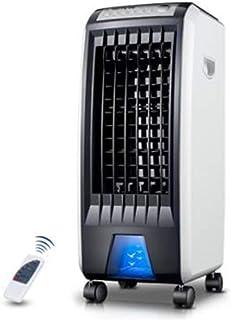 Aire acondicionado portátil Refrigerador de evaporación del pantano, Control Remoto Ultra silencioso, área de enfriamiento 330 m2, Negro, 70 cm