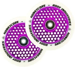 Root Industries Honeycore 110mm Wheels Purple/White (Pair)
