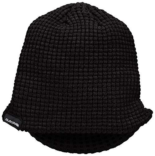 [ダカイン] [ユニセックス] ニット キャップ (ツバ付き) [ AI232-936 / Waffle Visor ] 帽子 ビーニー BLK_...