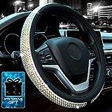 Didida Bling Steering Wheel Cover for Women Girl Diamond Crystal...