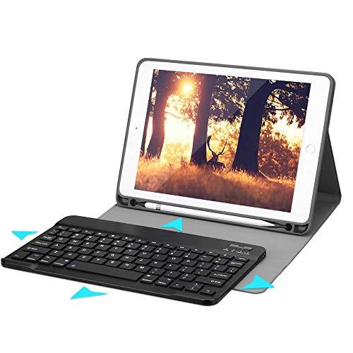 Funda Protectora y Soporte con Teclado inalambrico Bluetooth para Tablet de 10,4' Proteccion