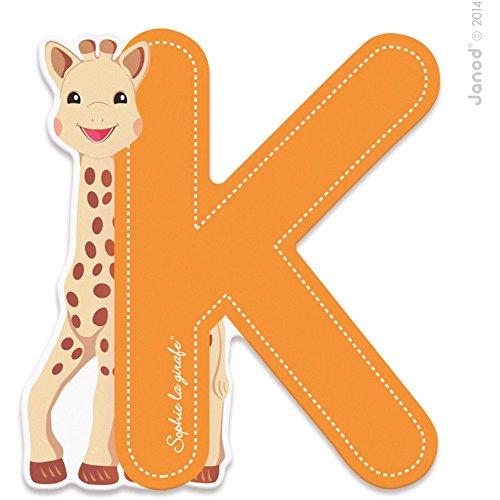 Lettre K Sophie la girafe - Janod