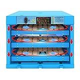 LHQ-HQ. 256 Uova Incubatrice Automatica Girando con l'uovo vassoi, Temperatura umidità di Controllo pollame Hatcher for Farm Polli Anatre Goose Birds