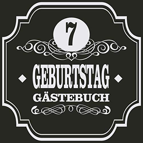 7 Geburtstag Gästebuch: Cooles Geschenk zum 7. Geburtstag Geburtstagsparty Gästebuch Eintragen von...