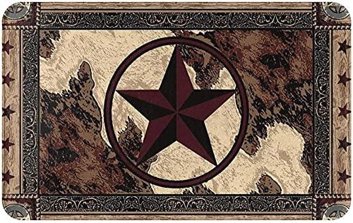 Vintage stil stjärnor på träpanel välkommen dörrmatta inomhus utomhus entré matta golvmattor skoskrapa matta för kök badrum golv matta 40 x 60 cm