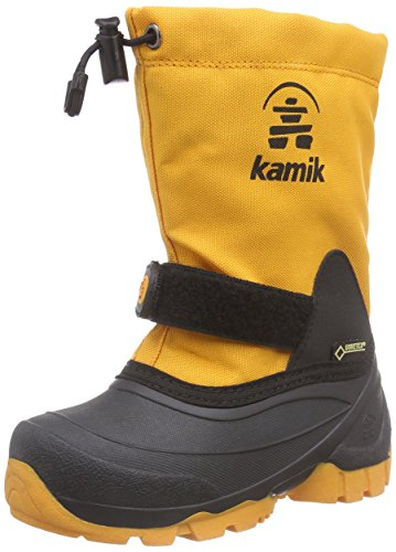 Kamik WATERBUG5G, Unisex-Kinder Schneestiefel, Orange (MAN-MANGO), 27