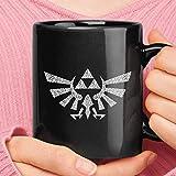The Legend of Zelda Medallion Symbol Hyrule Crest Coffee Mug 11oz - 15oz