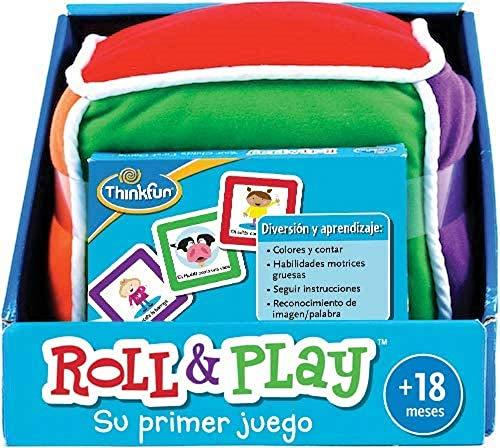 ThinkFun Roll & Play Lernspiel für Babys, Empfohlenes Alter ab 18 Monaten (Ravensburger 76322)
