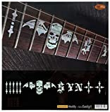 Inlay Synyster Gates SYN and Death Bats - Marcador de posición para guitarras