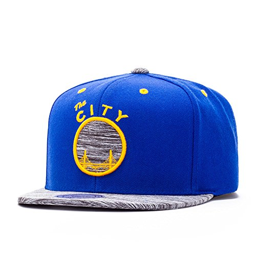 Mitchell & Ness Cap - Golden State Warriors Motion Gorra de béisbol - para hombre Royal/Yellow...