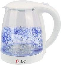 غلاية ماء كهربائية مصنوعة من الزجاج مزودة بضوء ليد من دي ال سي، السعة 1.8 لتر، قدرة 150-2200 واط