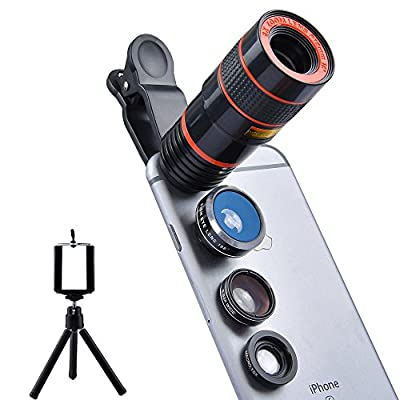 Apexel Universal Professional HD Camera Lens Kit