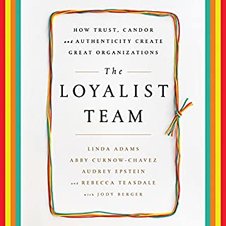 The Loyalist Team audiobook cover art