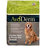 AvoDerm Natural Chicken Meal & Brown Rice - Senior Dry Dog Food 26 pounds