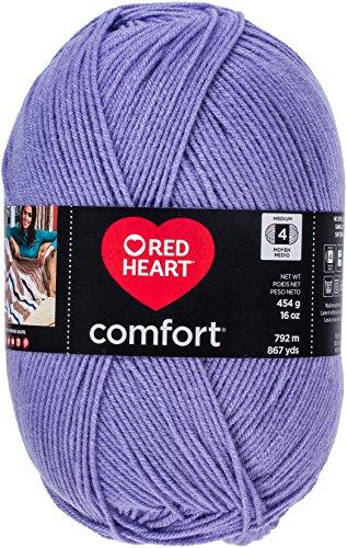 Red Heart Comfort Yarn-Periwinkle