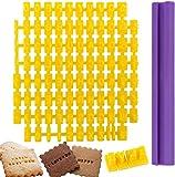 94pcs Alphabet Number Letter DIY Mold Biscuit Fondant Cookie Cake Stamp Decorating Baking Tool Set Kitchen Craft Message Maker – Discoball