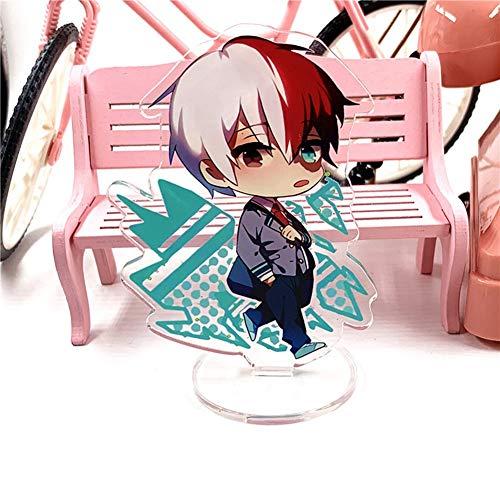 AMA-StarUK36 My Hero Academia Acrylständer Modell Kreative Stehen Nette Transparente Stehtisch Schmücken Cartoon Action-figur Anime Fan Beste Geschenk(H13)