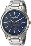 UNLISTED WATCHES Men's Sport Japanese-Quartz Watch with Alloy Strap, Silver, 24 (Model: 10030899)